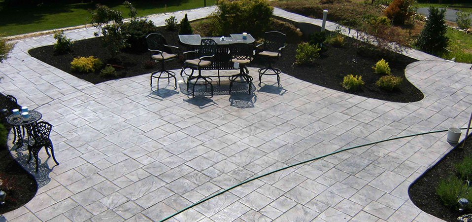 St. Louis Concrete Contractors Specializing In Stamped Concrete Patios.