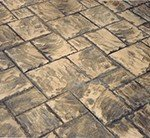 So what is this stamped concrete?